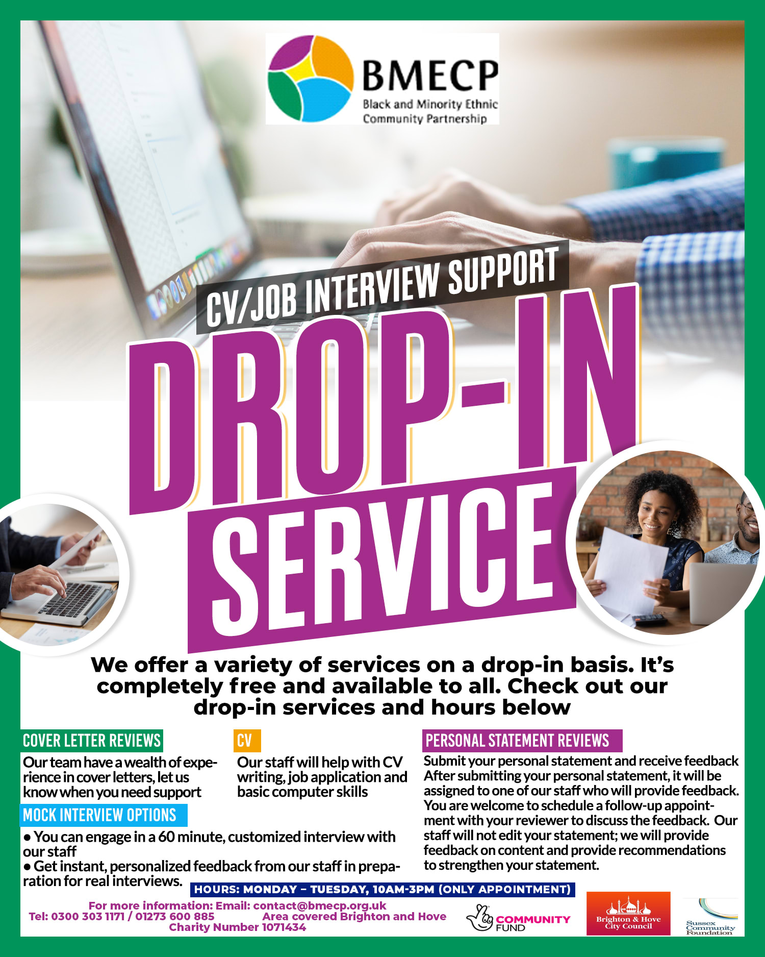 Employment Skills Project – Drop in Service
