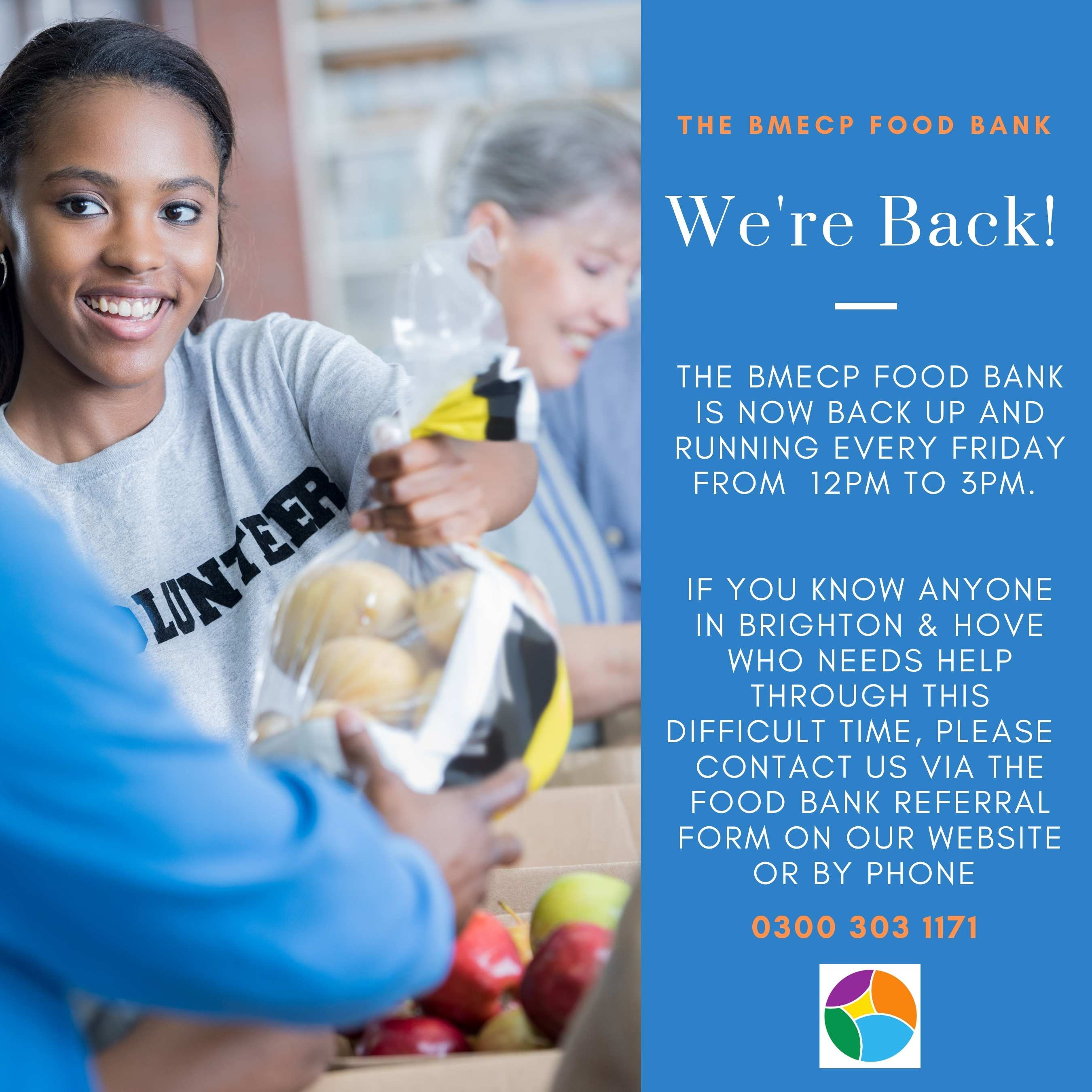 The BMECP Food Bank